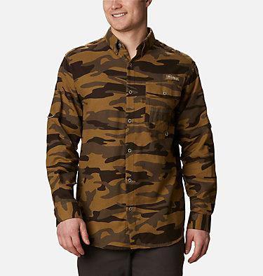 Men's PHG Sharptail™ Flannel - Big Sharptail™ Flannel | 914 | 4X, Brown Gallatin Camo, front