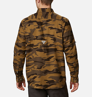 Men's PHG Sharptail™ Flannel - Tall Sharptail™ Flannel | 914 | XLT, Brown Gallatin Camo, back