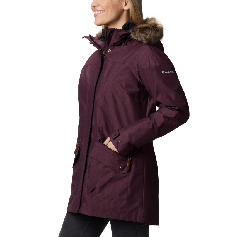Carson Pass™ IC Jacket | 522 | S Women's Carson Pass™ Interchange Jacket, Black Cherry, a1