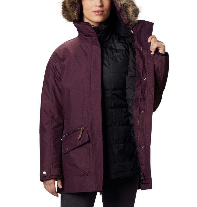 Carson Pass™ IC Jacket | 522 | S Women's Carson Pass™ Interchange Jacket, Black Cherry, a3