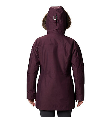 Women's Carson Pass™ Interchange Jacket Carson Pass™ IC Jacket | 225 | L, Black Cherry, back