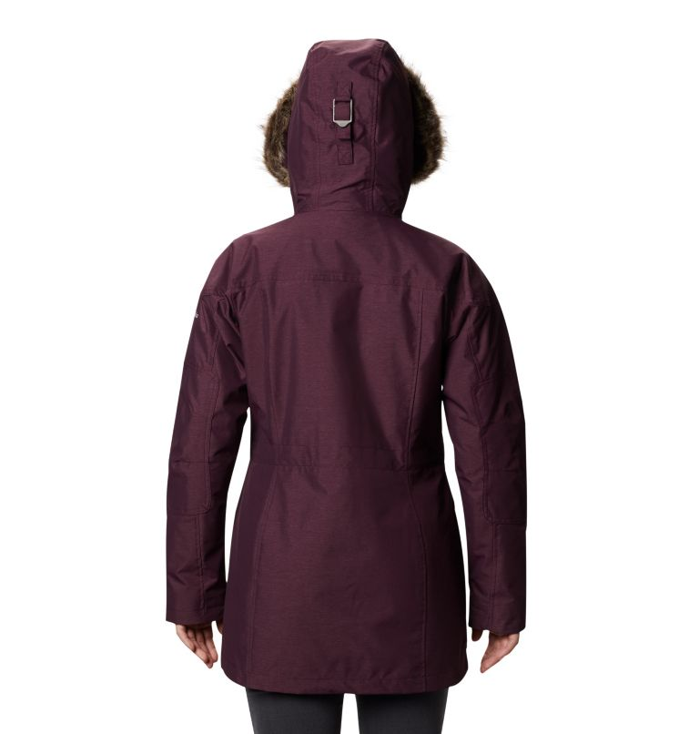 Carson Pass™ IC Jacket | 522 | S Women's Carson Pass™ Interchange Jacket, Black Cherry, back