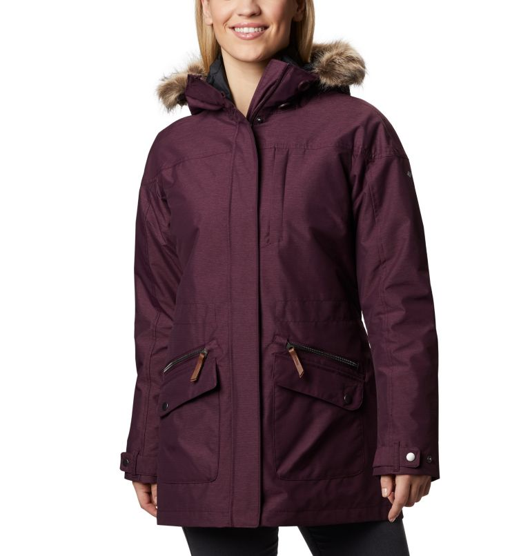 Carson Pass™ IC Jacket | 522 | S Women's Carson Pass™ Interchange Jacket, Black Cherry, front