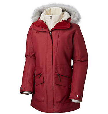 Women's Carson Pass™ Interchange Jacket Carson Pass™ IC Jacket   225   L, Beet, front