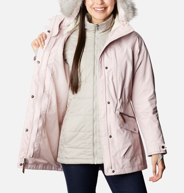 Carson Pass™ IC Jacket | 618 | S Women's Carson Pass™ Interchange Jacket, Mineral Pink, a3