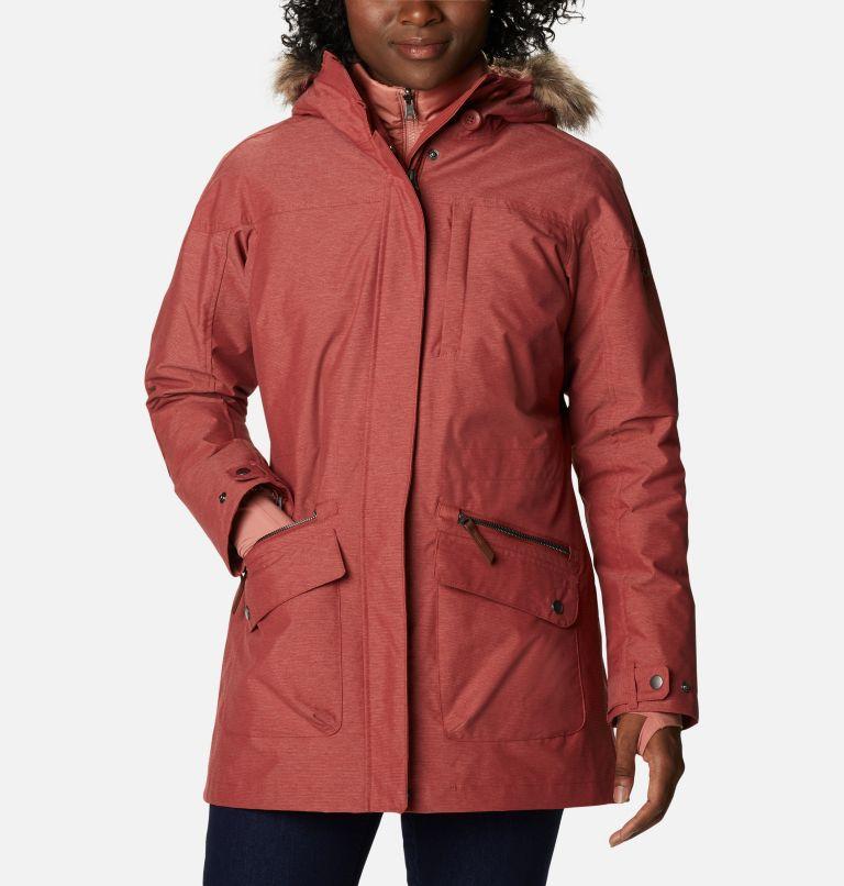 Carson Pass™ IC Jacket | 638 | XL Women's Carson Pass™ Interchange Jacket, Dusty Crimson, front