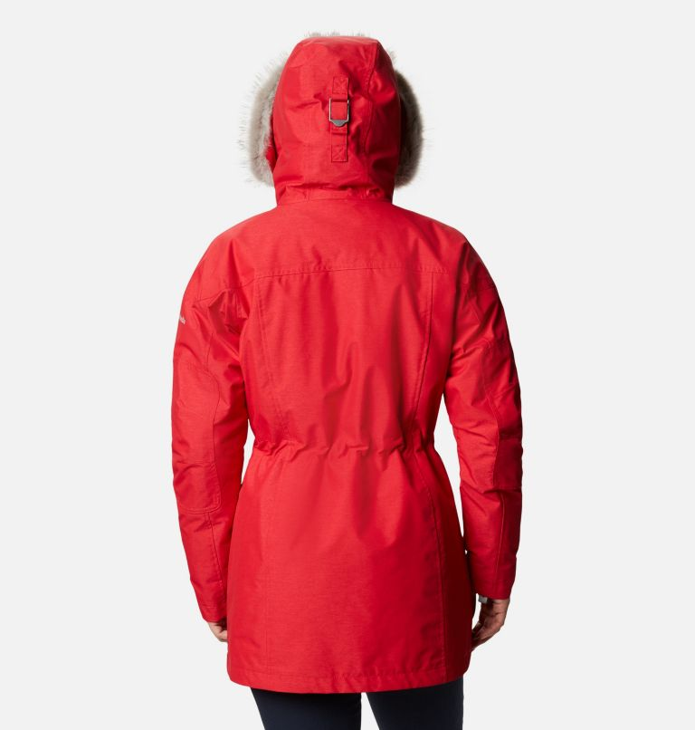 Carson Pass™ IC Jacket | 658 | S Women's Carson Pass™ Interchange Jacket, Red Lily, back