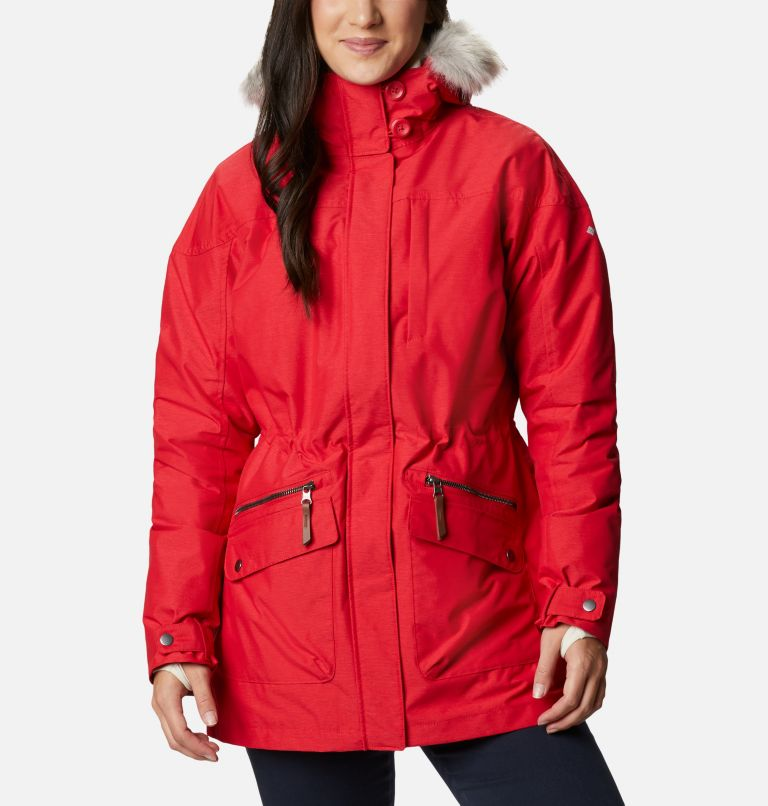 Carson Pass™ IC Jacket | 658 | M Women's Carson Pass™ Interchange Jacket, Red Lily, front