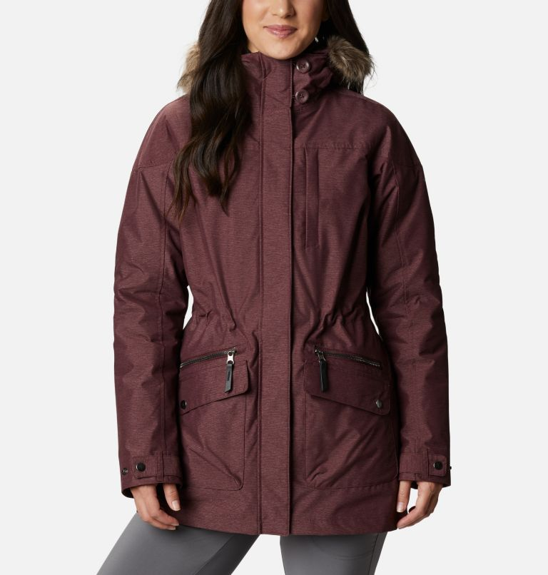 Carson Pass™ IC Jacket | 671 | S Women's Carson Pass™ Interchange Jacket, Malbec, front