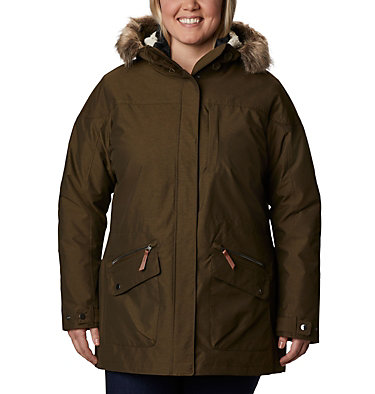 Women's Carson Pass™ Interchange Jacket - Plus Size Carson Pass™ IC Jacket | 658 | 3X, Olive Green, front