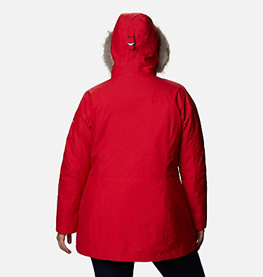 Women's Carson Pass™ Interchange Jacket - Plus Size Carson Pass™ IC Jacket | 658 | 3X, Red Lily, back