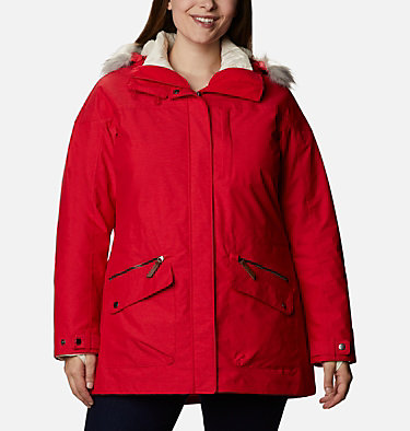 Women's Carson Pass™ Interchange Jacket - Plus Size Carson Pass™ IC Jacket | 658 | 3X, Red Lily, front