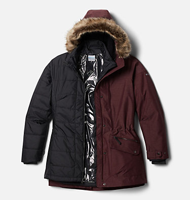 Women's Carson Pass™ Interchange Jacket - Plus Size Carson Pass™ IC Jacket | 658 | 3X, Malbec, front