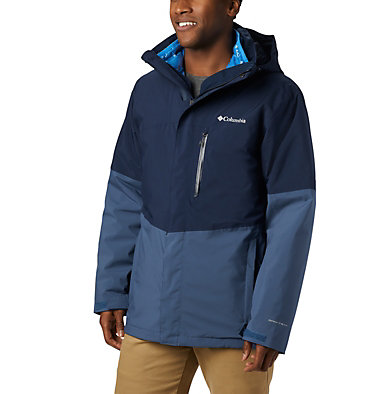 Men's Wild Card™ Interchange Jacket Wild Card™ Interchange Jacket | 464 | L, Collegiate Navy, Dark Mountain, front