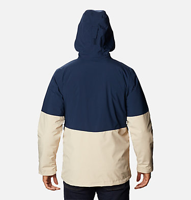 Men's Wild Card™ Interchange Jacket Wild Card™ Interchange Jacket | 043 | L, Collegiate Navy, Ancient Fossil, back