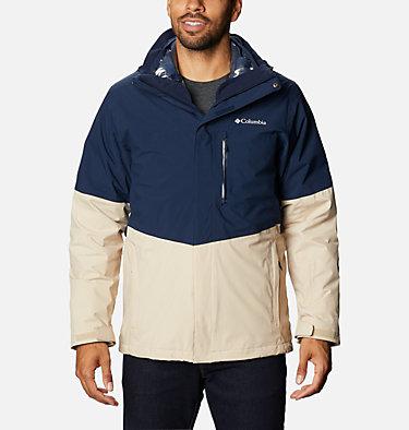 Men's Wild Card™ Interchange Jacket Wild Card™ Interchange Jacket | 043 | L, Collegiate Navy, Ancient Fossil, front