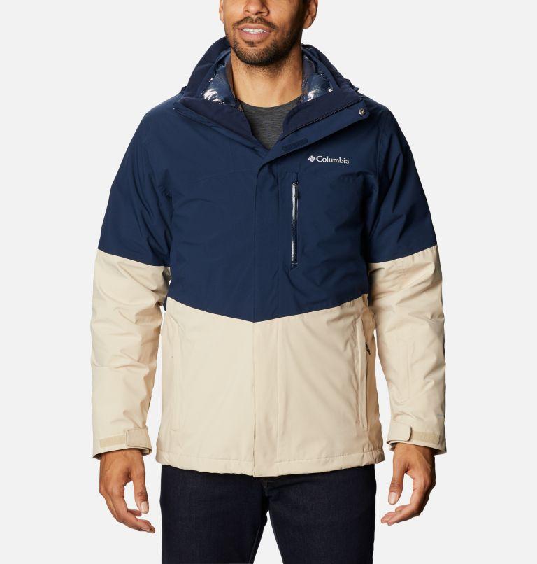 Wild Card™ Interchange Jacket   466   M Men's Wild Card™ Interchange Jacket, Collegiate Navy, Ancient Fossil, front