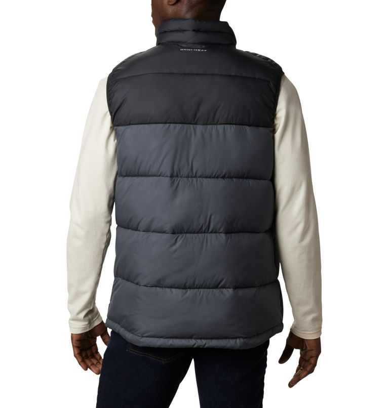Pike Lake™ Vest | 010 | S Men's Pike Lake™ Vest, Black, Graphite, back