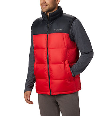Men's Pike Lake™ Vest Pike Lake™ Vest | 014 | L, Mountain Red, Black, front