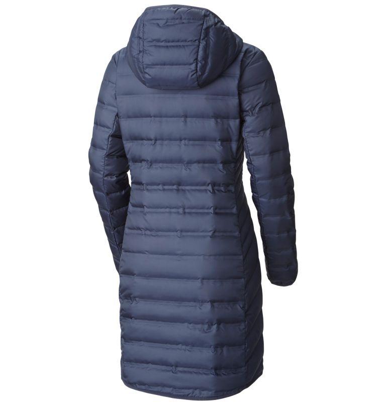 Women's Lake 22™ Long Hooded Down Jacket Women's Lake 22™ Long Hooded Down Jacket, back