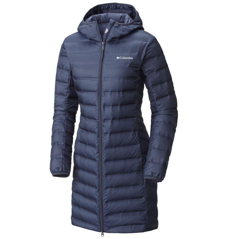 Women's Lake 22™ Long Hooded Down Jacket Women's Lake 22™ Long Hooded Down Jacket, front