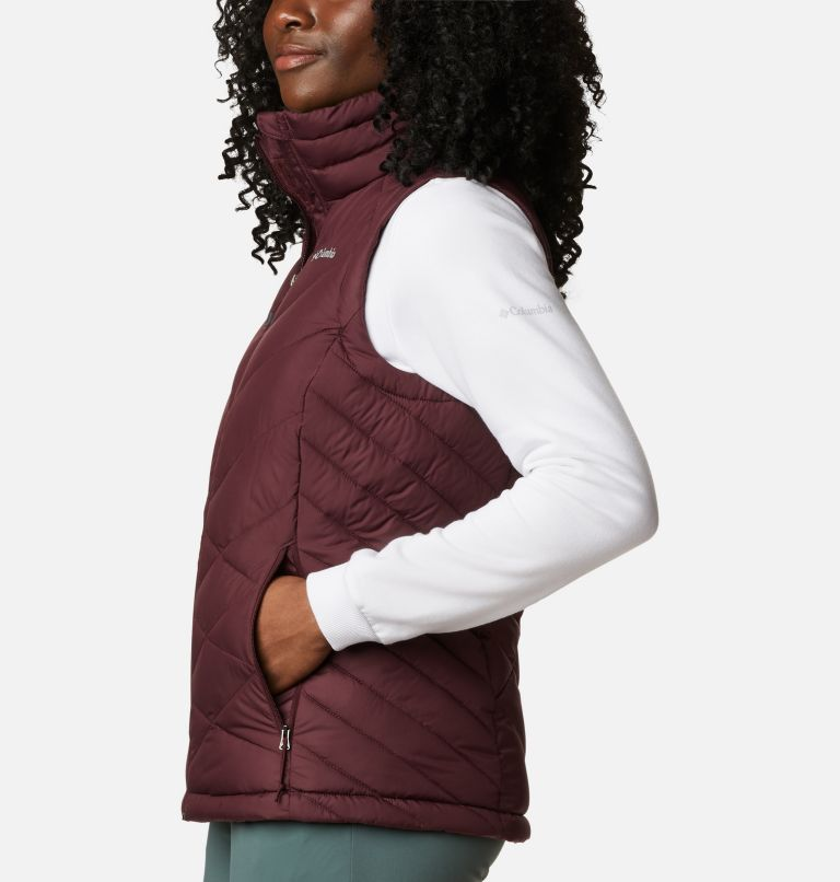 Heavenly™ Vest | 671 | S Women's Heavenly™ Vest, Malbec, a1