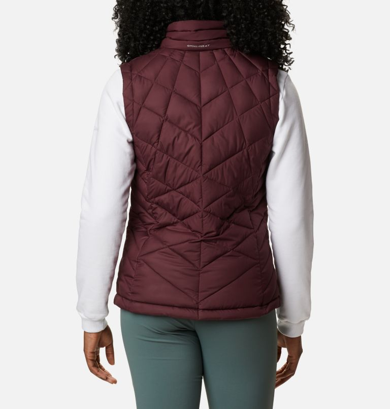 Heavenly™ Vest | 671 | L Women's Heavenly™ Vest, Malbec, back