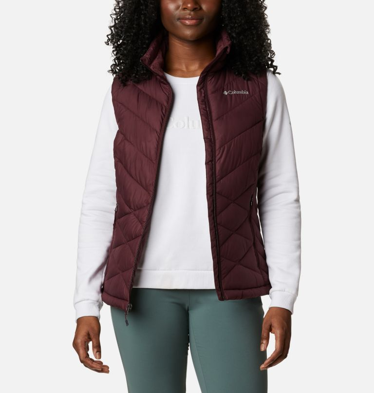 Heavenly™ Vest | 671 | S Women's Heavenly™ Vest, Malbec, front