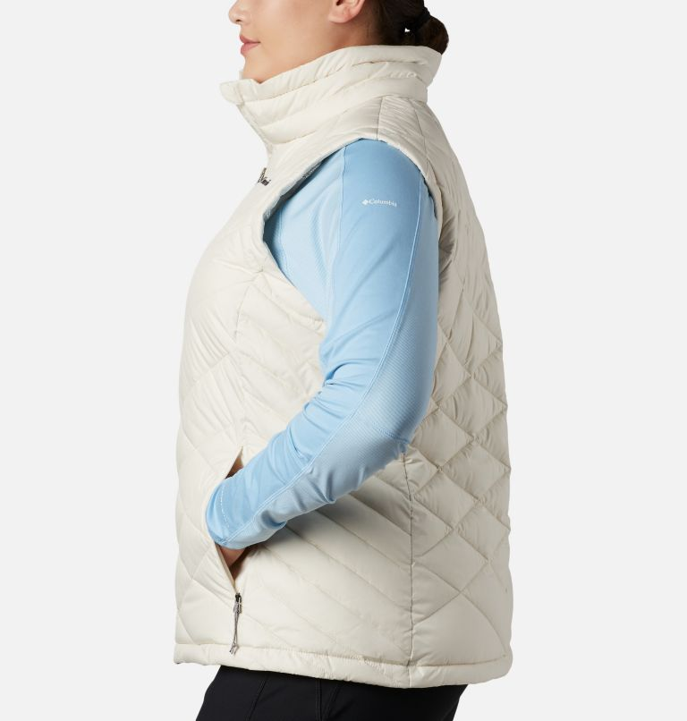 Heavenly™ Vest | 191 | 1X Women's Heavenly™ Vest - Plus Size, Chalk, a1
