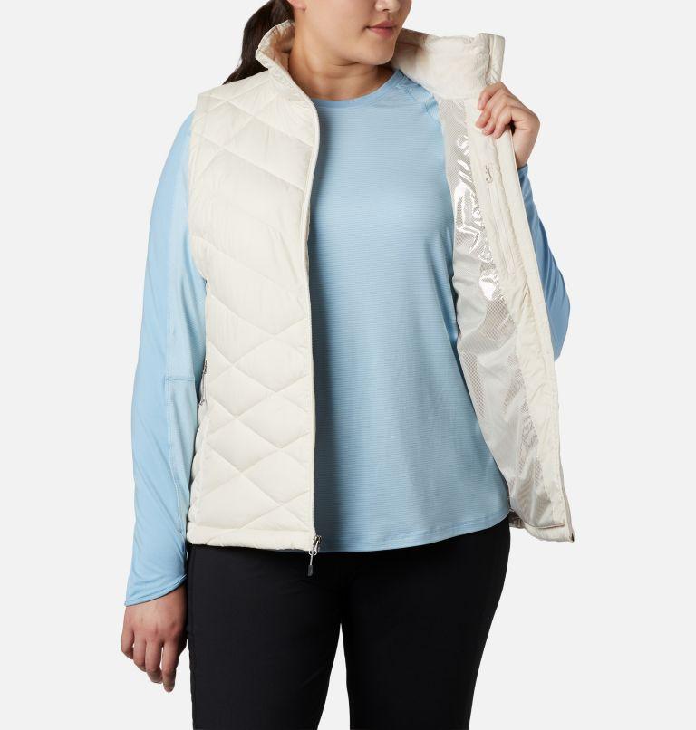 Heavenly™ Vest | 191 | 1X Women's Heavenly™ Vest - Plus Size, Chalk, a2
