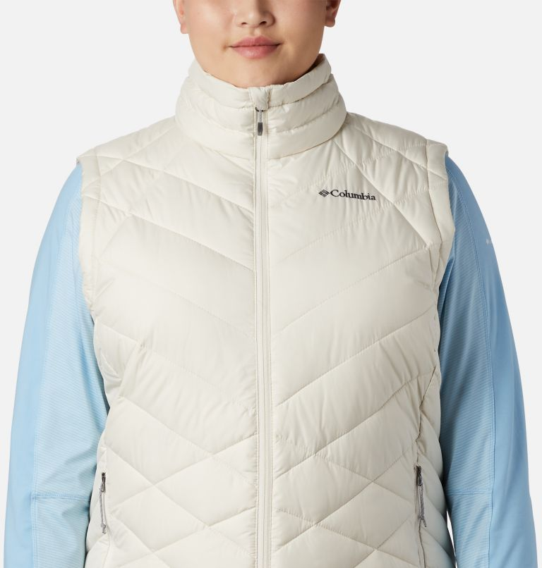 Heavenly™ Vest | 191 | 1X Women's Heavenly™ Vest - Plus Size, Chalk, a3