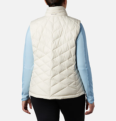 Women's Heavenly™ Vest - Plus Size Heavenly™ Vest | 671 | 1X, Chalk, back