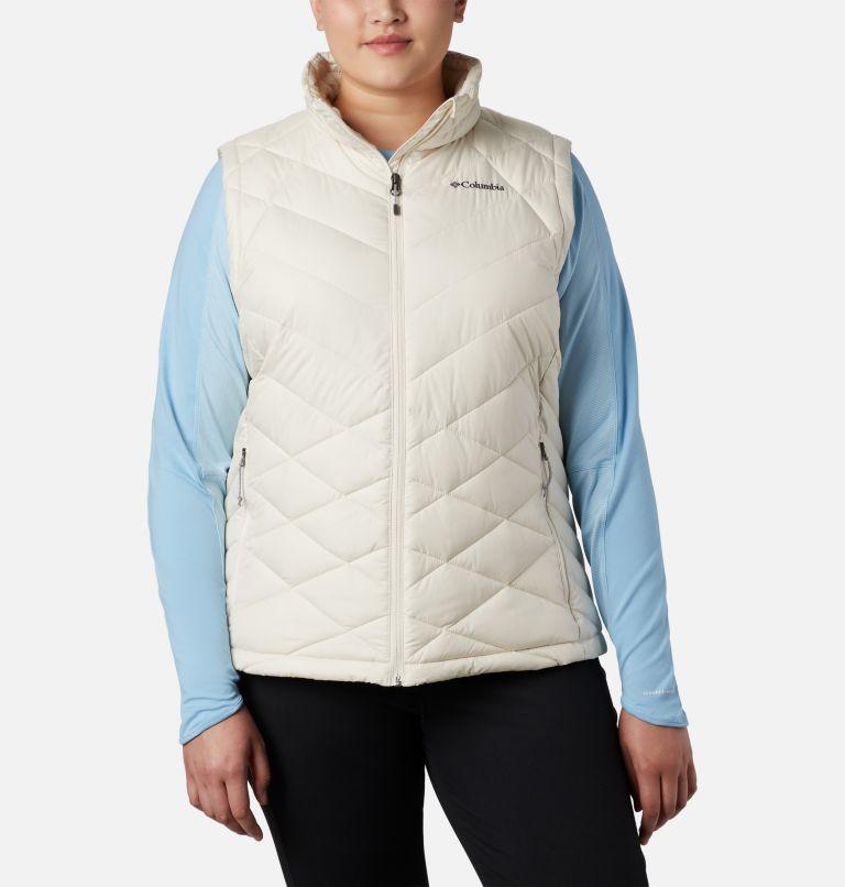 Heavenly™ Vest | 191 | 1X Women's Heavenly™ Vest - Plus Size, Chalk, front