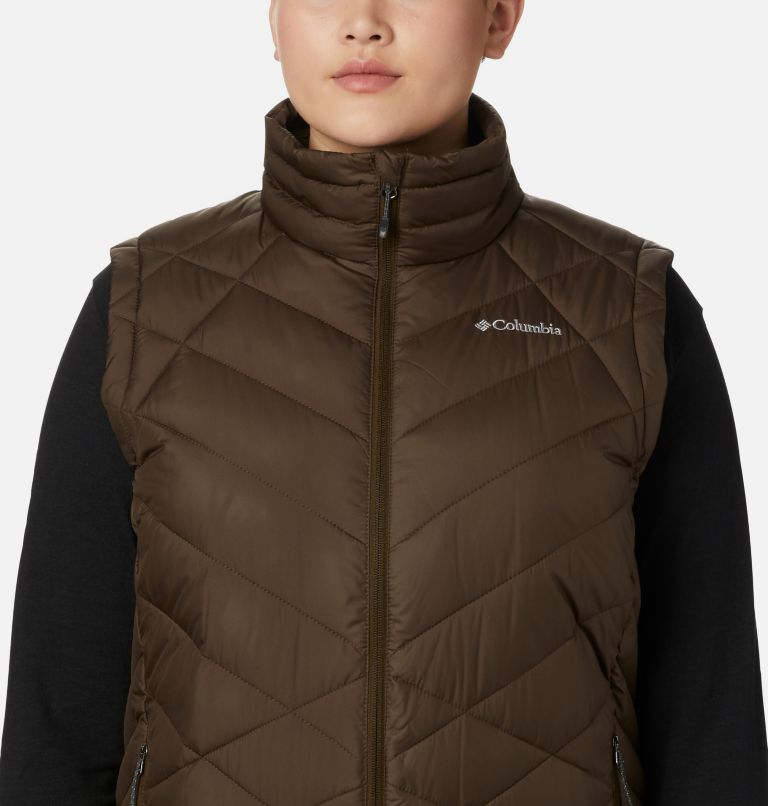 Heavenly™ Vest | 319 | 3X Women's Heavenly™ Vest - Plus Size, Olive Green, a2