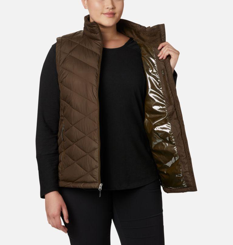 Heavenly™ Vest | 319 | 3X Women's Heavenly™ Vest - Plus Size, Olive Green, a3