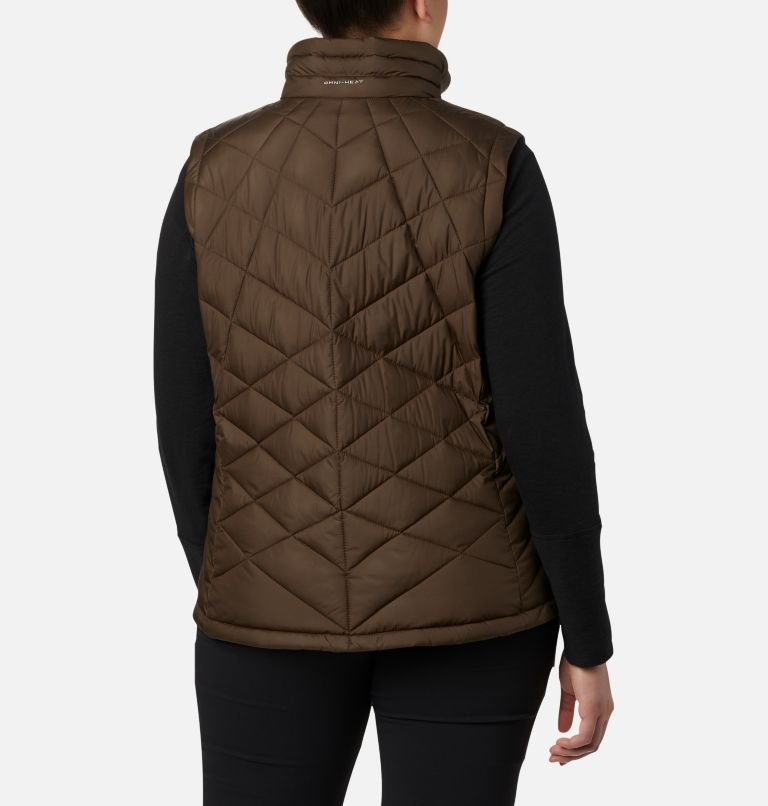 Heavenly™ Vest | 319 | 3X Women's Heavenly™ Vest - Plus Size, Olive Green, back