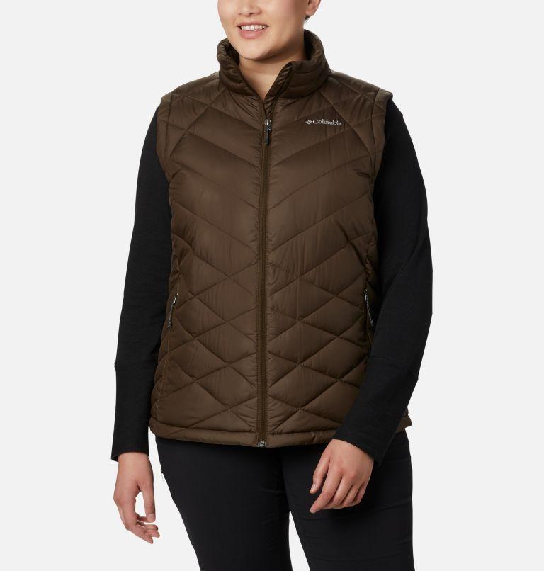 Heavenly™ Vest | 319 | 2X Women's Heavenly™ Vest - Plus Size, Olive Green, front