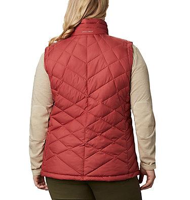 Women's Heavenly™ Vest - Plus Size Heavenly™ Vest | 638 | 1X, Dusty Crimson, back