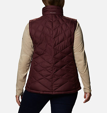 Women's Heavenly™ Vest - Plus Size Heavenly™ Vest | 671 | 1X, Malbec, back