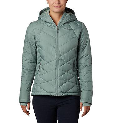 Women's Heavenly™ Hooded Jacket Heavenly™ Hdd Jacket | 604 | S, Light Lichen, front