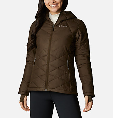 Women's Heavenly™ Hooded Jacket Heavenly™ Hdd Jacket | 604 | S, Olive Green, front