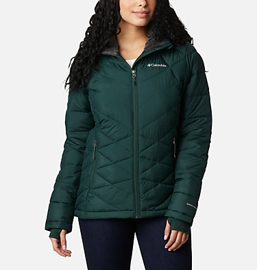 Women's Heavenly™ Hooded Jacket Heavenly™ Hdd Jacket | 604 | S, Spruce, front