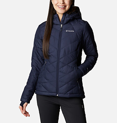 Women's Heavenly™ Hooded Jacket Heavenly™ Hdd Jacket | 604 | S, Dark Nocturnal, front