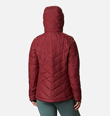 Women's Heavenly™ Hooded Jacket Heavenly™ Hdd Jacket | 604 | S, Marsala Red, back