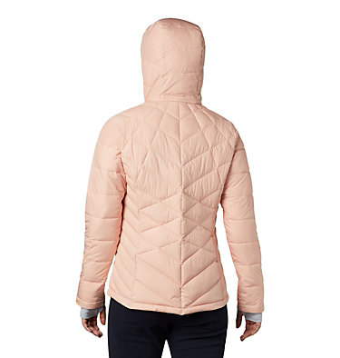 Women's Heavenly™ Hooded Jacket Heavenly™ Hdd Jacket | 604 | S, Peach Cloud, back