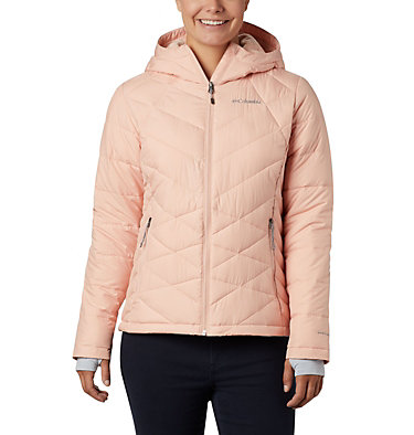Women's Heavenly™ Hooded Jacket Heavenly™ Hdd Jacket | 604 | S, Peach Cloud, front