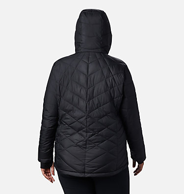 Veste à capuchon Heavenly™ pour femme - Grandes tailles Heavenly™ Hdd Jacket | 604 | 1X, Black, back