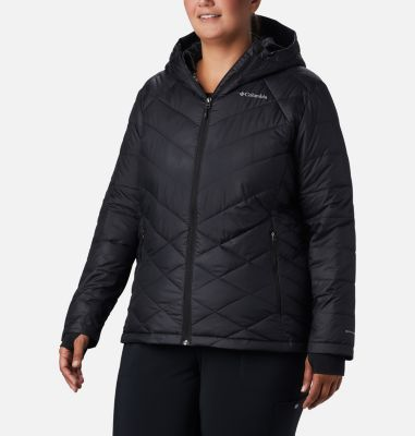 Orange women hooded plus heavenly womenu0027s columbia jacket size like
