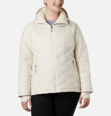 Veste à capuchon Heavenly™ pour femme - Grandes tailles Heavenly™ Hdd Jacket | 604 | 1X, Chalk, front