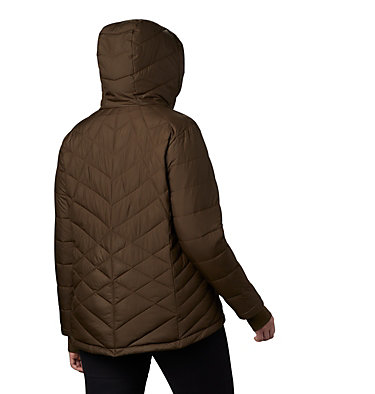 Women's Heavenly™ Hooded Jacket - Plus Size Heavenly™ Hdd Jacket | 870 | 1X, Olive Green, back